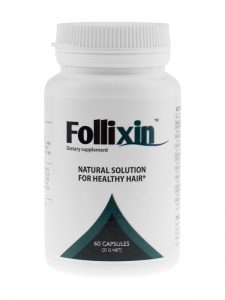 Tabletki na wypadanie włosów Follixin