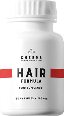 Tabletki na wypadanie włosów Hair Formula Cheers